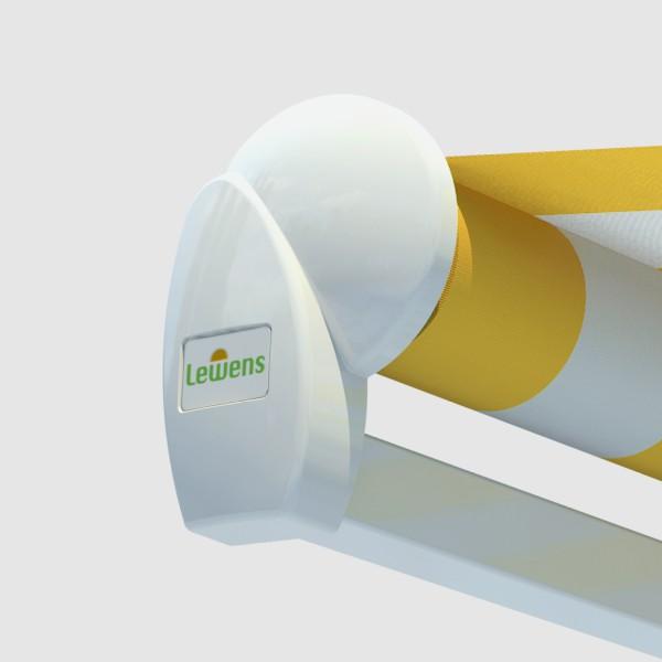 В базовой комплектации у модели серии Economy тканевый ролик навеса не защищен или «открыт».