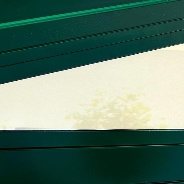 Трехсторонний  заполнитель для удержания стекла для стеклянных крыш Murano