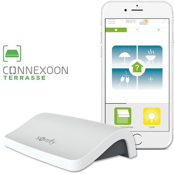 Контроль маркиз со смартфона (Connexoon)